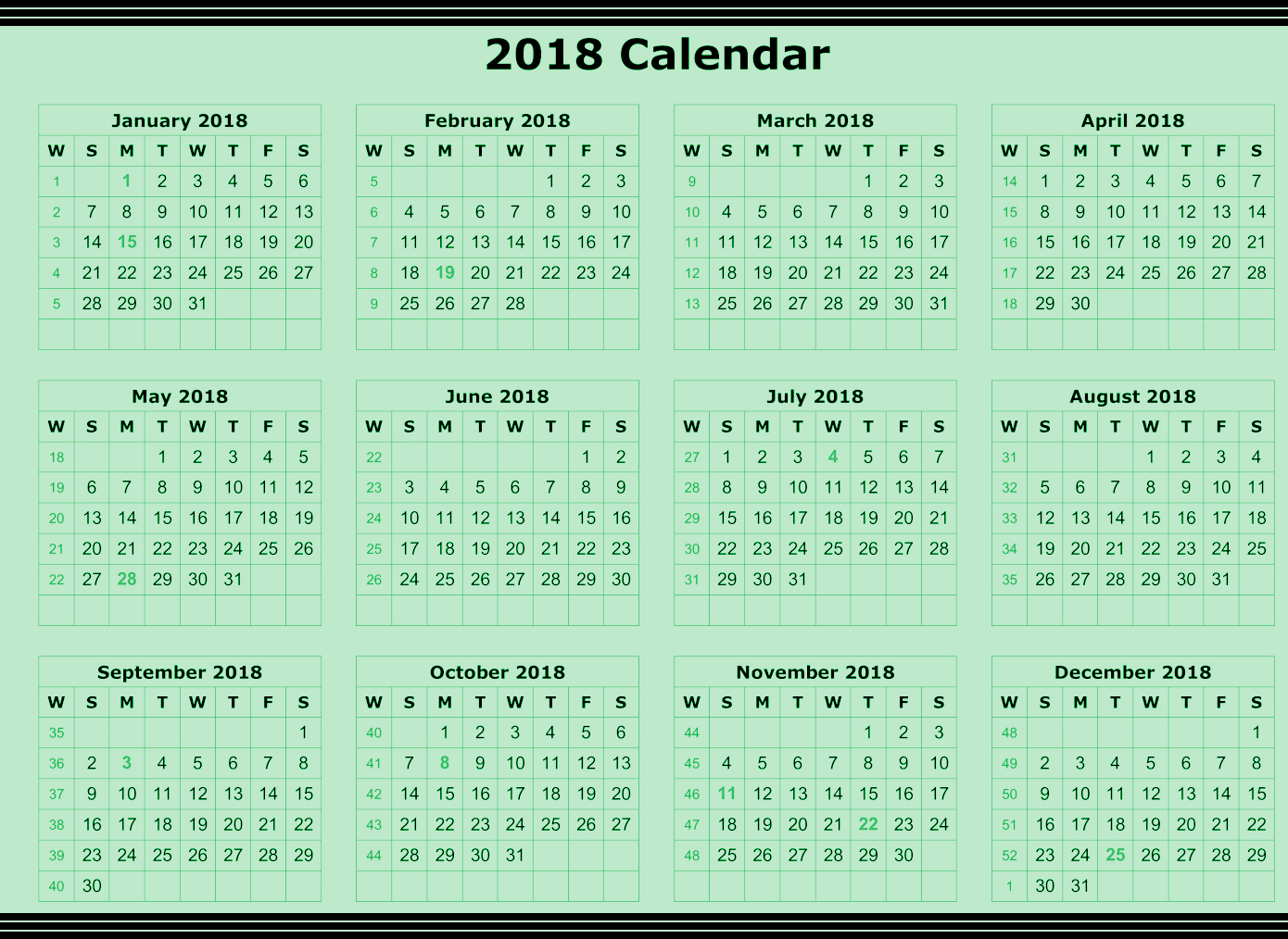Calendar May To June : Annual calendar printable for free