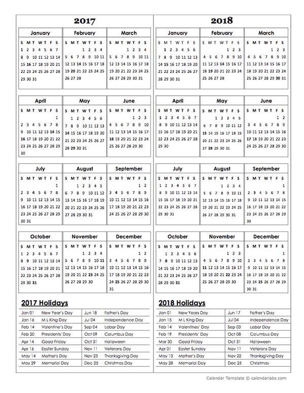 2018 calendar with holidays - Geocvc.co