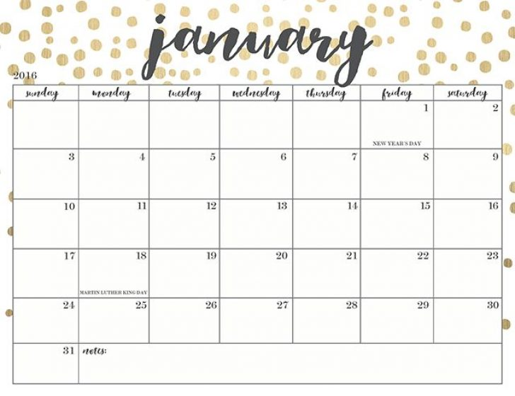 January 2018 calendar - 2018 Calendar printable for Free Download ...