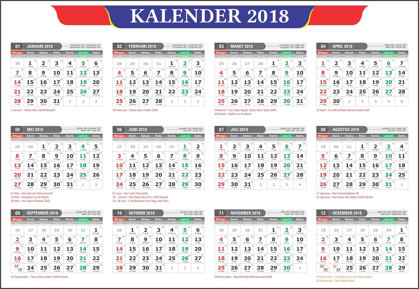 Kalender 2018 2018 calendar printable for free download india usa uk kalender 2018 masehi stopboris Gallery