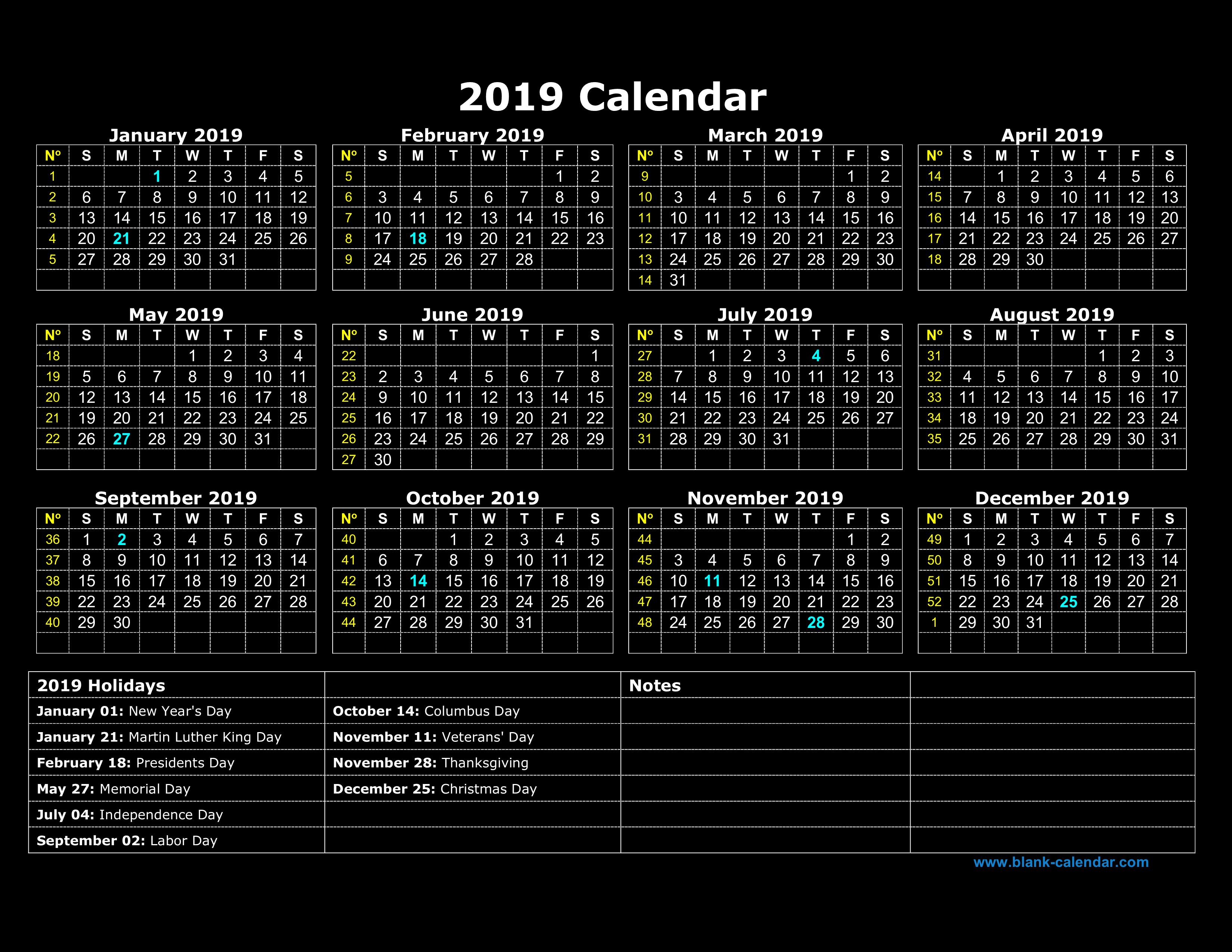 March 2018 Calendar Download